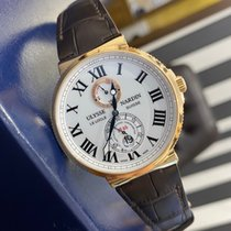 Ulysse Nardin Marine Chronometer 43mm Pозовое золото 43mm Белый Россия, Санкт-Петербург