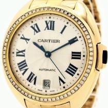Cartier Clé de Cartier Oro rosa 38mm Plata Romanos España, Barcelona
