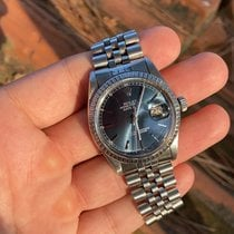 Rolex Argent Remontage automatique 36mm occasion Datejust