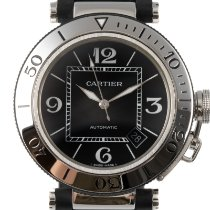 Cartier Pasha Seatimer Acero 41mm Negro