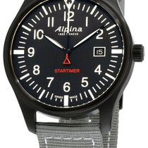 Alpina Startimer Pilot neu Uhr mit Original-Box und Original-Papieren AL-240B4FBS6