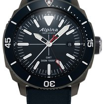 Alpina Seastrong AL-247LNN4TV6 Neu 44mm
