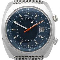 Alpina Startimer Pilot Heritage nuevo Reloj con estuche y documentos originales AL-555N4H6B