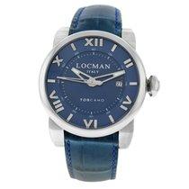 Locman Toscano Steel 42mm Blue Arabic numerals United States of America, New York, New York