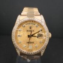 Rolex Day-Date 118388 Sehr gut Gelbgold 36mm Automatik