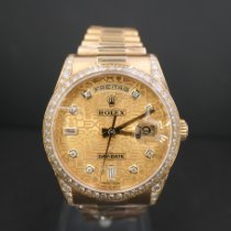 Rolex Day-Date Zuto zlato 36mm Zlatan