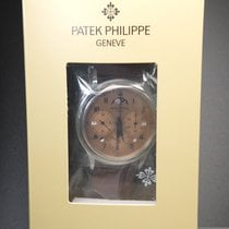 Patek Philippe Platinum Manual winding Gold Arabic numerals 38.3mm new Perpetual Calendar Chronograph
