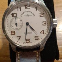Zeno-Watch Basel Stahl Handaufzug 8557 gebraucht Österreich, yspertal