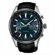 Seiko Titanio Automático Negro 45mm nuevo Astron GPS Solar Chronograph