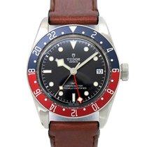 Tudor Acier Remontage automatique Noir 41mm occasion Black Bay GMT