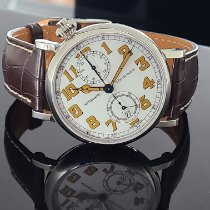 Longines Avigation Steel White Arabic numerals