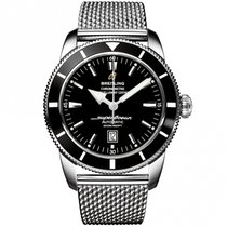 Breitling Superocean Héritage II Chronographe Сталь 46mm Черный