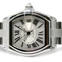 Cartier Roadster Acero 38mm Plata Romanos España, Madrid