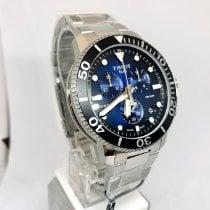 Tissot Seastar 1000 Acero 45.5mm Azul Sin cifras