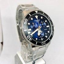 Tissot Seastar 1000 Steel 45.5mm Blue No numerals United States of America, New York, NY