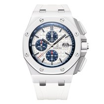Audemars Piguet Royal Oak Offshore Chronograph Ceramic 44mm White No numerals United States of America, New York, New York