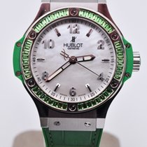 Hublot Big Bang Tutti Frutti pre-owned 38mm Mother of pearl Rubber