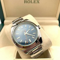 Rolex Milgauss Steel 40mm Blue No numerals United States of America, Florida, Coconut Creek