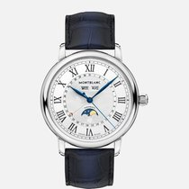 Montblanc Star Steel 42mm Silver Roman numerals United States of America, New Jersey, River Edge