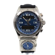 Breitling B-1 Steel 43mm Blue Arabic numerals United States of America, New York, New York