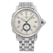 Ulysse Nardin Dual Time Steel 42mm Silver United States of America, New York, NYC