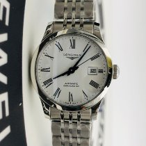 Longines Record Steel 30mm White Roman numerals United States of America, New York, NYC
