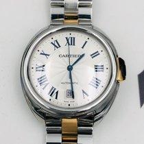 Cartier Clé de Cartier Acero 41mm Plata Romanos