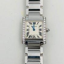 Cartier Tank Française new Quartz Watch with original box and original papers