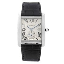 Cartier Tank MC Steel 34mm Silver Roman numerals United States of America, New York, NYC