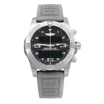 Breitling Exospace B55 Connected Titanium 46mm Black Arabic numerals United States of America, New York, NYC