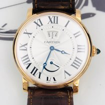 Cartier Rotonde de Cartier Rose gold 40mm Silver Roman numerals United States of America, New York, NYC