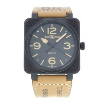Bell & Ross BR 01-92 Steel 46mm Black United States of America, New York, NYC
