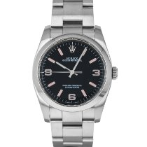 Rolex Oyster Perpetual 36 Steel 36mm Black Arabic numerals United States of America, Maryland, Baltimore, MD