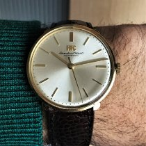 IWC Yellow gold 34mm Manual winding 1410 pre-owned