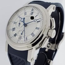 Breguet Marine White gold 42mm Silver Roman numerals United States of America, California, Los Angeles