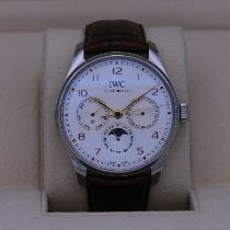 IWC Portuguese Perpetual Calendar Steel 42.4mm White United States of America, Tennesse, Nashville