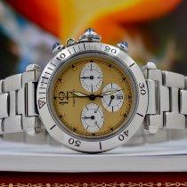 Cartier Pasha 4030 Muy bueno Acero 38mm Cuarzo