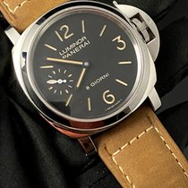 Panerai Luminor Base 8 Days Acier 44mm Noir Arabes