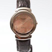Rolex Cellini White gold 36mm Pink Roman numerals United Kingdom, London
