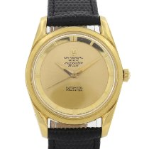 Universal Genève Yellow gold 34mm Automatic Polerouter pre-owned United States of America, Massachusetts, Boston
