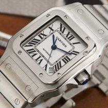 Cartier Santos Galbée Steel 45mm White Roman numerals