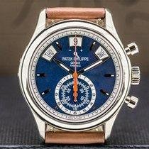 Patek Philippe Annual Calendar Chronograph White gold Blue United States of America, Massachusetts, Boston