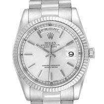 Rolex 118239 Or blanc 2001 Day-Date 36 36mm occasion