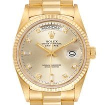 Rolex 18038 Yellow gold 1986 Day-Date 36 36mm pre-owned United States of America, Georgia, Atlanta