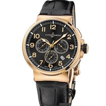 Ulysse Nardin Marine Chronograph new Automatic Chronograph Watch with original box and original papers 1506-150/62