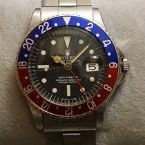 롤렉스 GMT-마스터 스틸 40mm 검정색 숫자없음