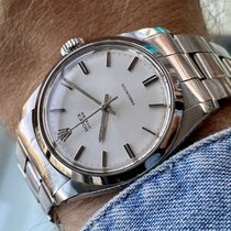 Rolex Oyster Precision Steel White United Kingdom, Norwich