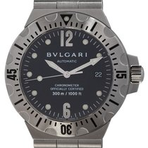 Bulgari Diagono Steel 40mm Black United States of America, Texas, Austin