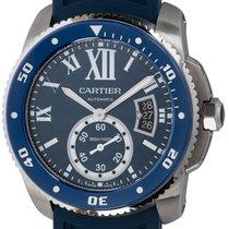 Cartier Calibre de Cartier Diver Steel 44mm Blue Roman numerals United States of America, Texas, Austin