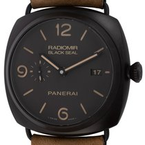 Panerai Radiomir Black Seal 3 Days Automatic 45mm Negro Arábigos
